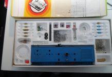 Inhoud philips experimenteerdoos EE 2003