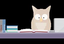 lezende uil